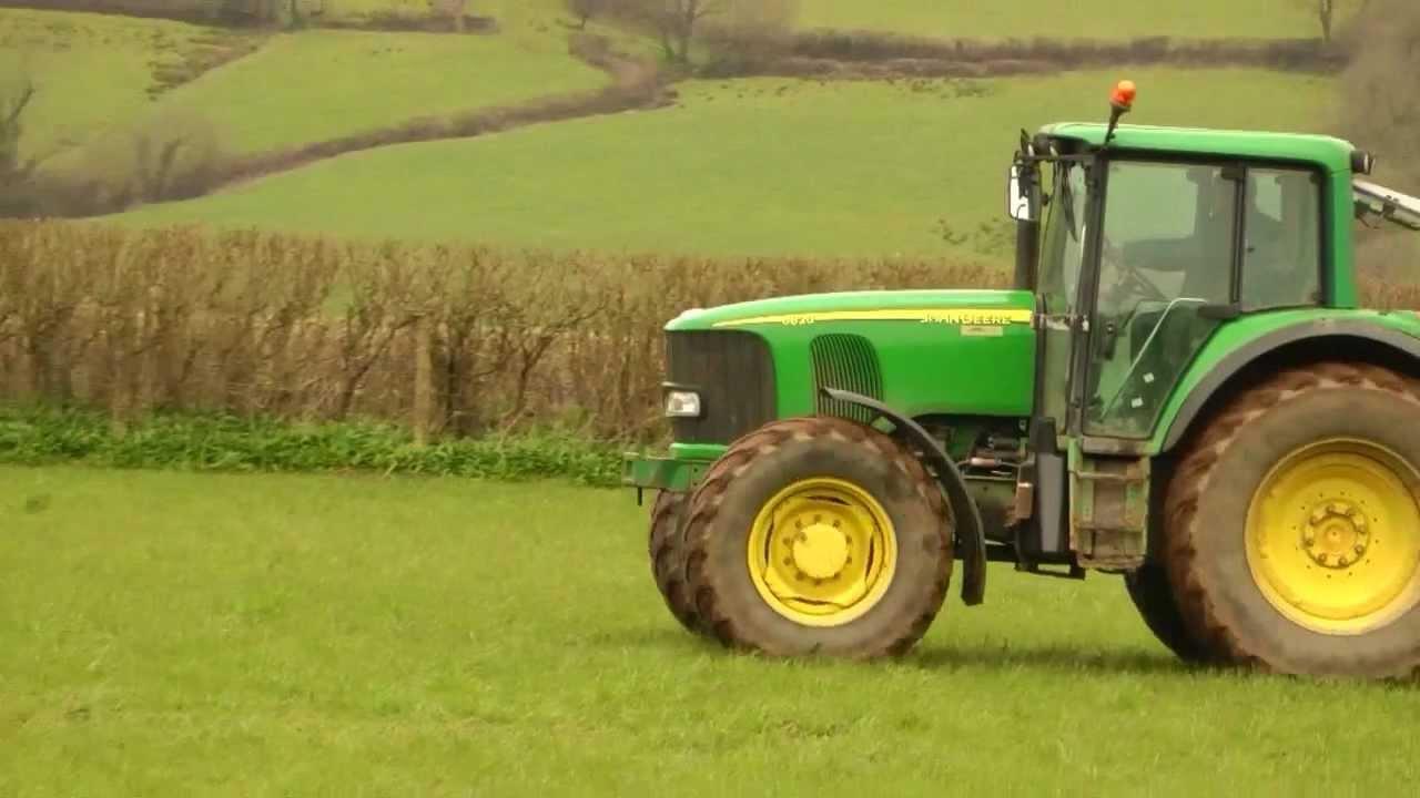 тракторът