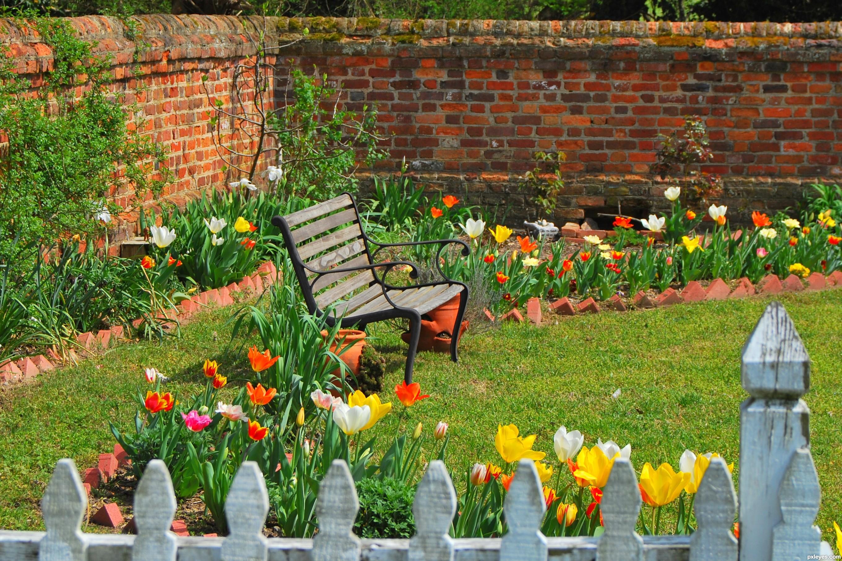 пролетно почистване на двор и градина